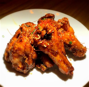 Foto Chicken BlackHot wings